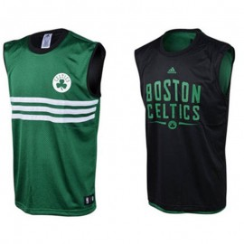 Maillot Reversible Boston Celtics Vert Basketball Garçon Adidas