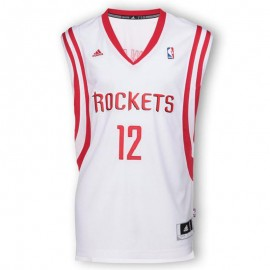 Maillot Houston Rockets Dwight Howard Blanc Basketball Homme Adidas
