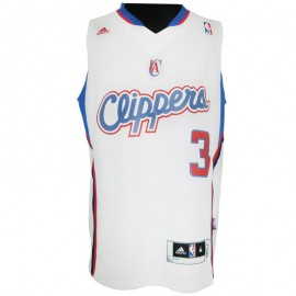 Maillot Los Angeles Clippers Chris Paul Blanc Basketball Homme Adidas