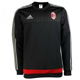 Sweat AC Milan Noir Football Garçon Adidas