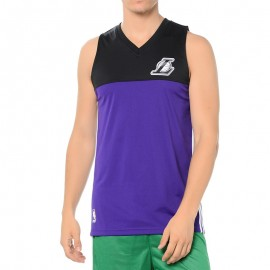 Maillot Los Angeles Lakers Violet Basketball Homme Adidas