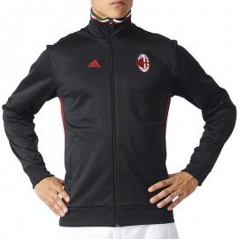 Veste AC Milan Noir Football Homme Adidas