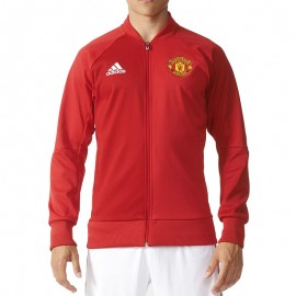 Veste Manchester United Rouge Football Homme Adidas