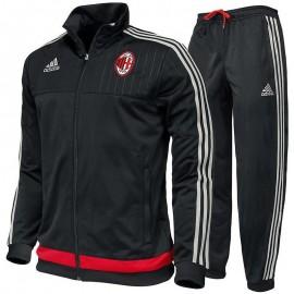 Survêtement AC Milan Noir Football Homme Adidas
