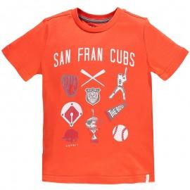 Tee Shirt San Fran Cubs Orange Garçon Esprit