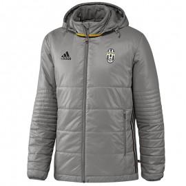 Doudoune Juventus Turin Gris Football Homme Adidas