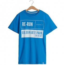 Tee Shirt Re-run Bleu Garçon Esprit