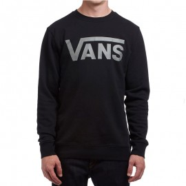 Sweat Classic Crew Sweat Noir Homme Vans