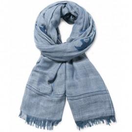 Foulard Magallanes Bleu Femme Desigual