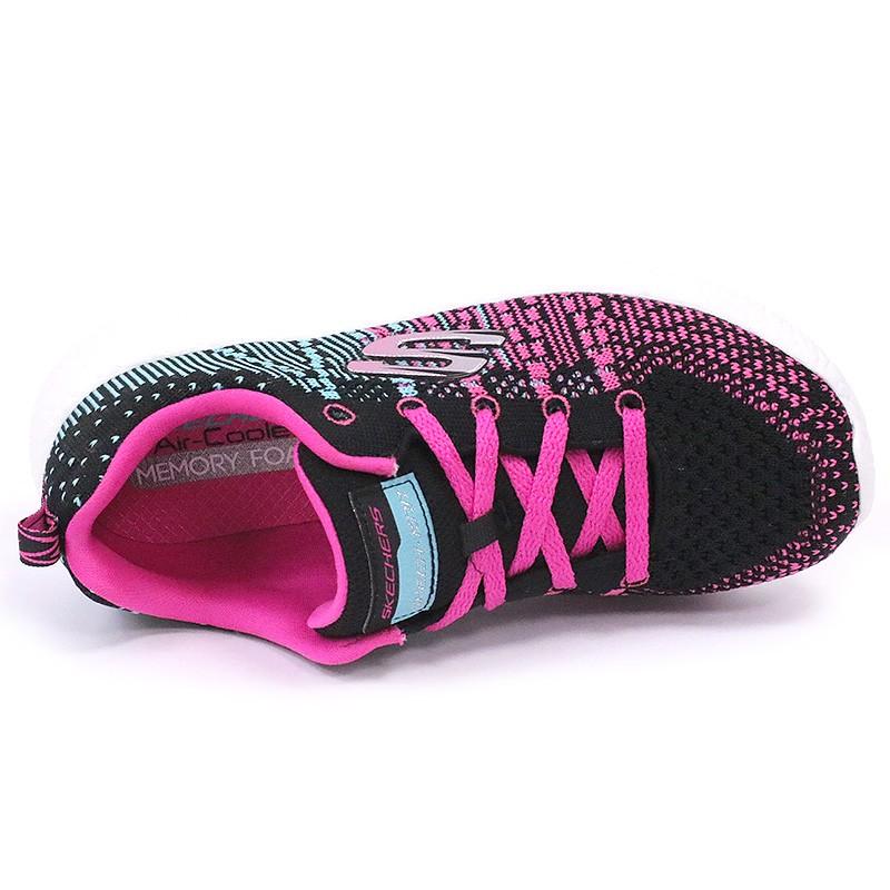 Chaussures Burst Ellipse Noir Fille Skechers