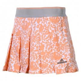Jupe-short Australia Stella Mc Cartney Tennis  Orange Femme Adidas
