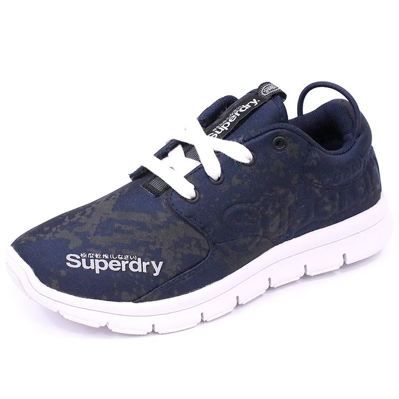 d4ffb0f4c2a9 Chaussures Scuba Runner Bleu Femme Superdry