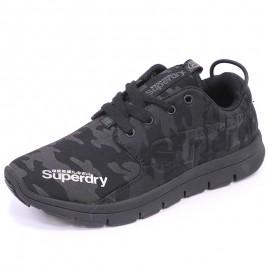 Chaussures Scuba Runner Noir Femme Superdry