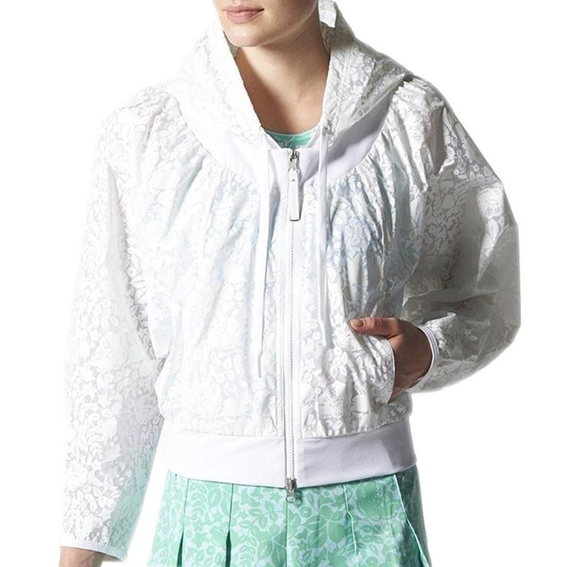 Veste coupe vent stella mc cartney tennis blanc femme adidas - Veste coupe vent adidas femme ...