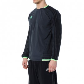 Tee-shirt ML Football Gris Homme Adidas