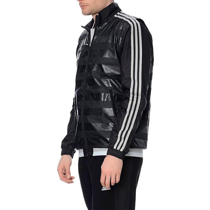 Veste Coupe vent Noir Football Homme Adidas