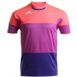 Maillot Football Freefootball Violet Homme Adidas
