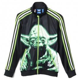 Veste Firebird Yoda Star Wars Noir Garçon Adidas