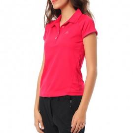 Polo Rose Femme Adidas