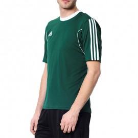 Tee Shirt Squad 13 Football Vert Homme Adidas