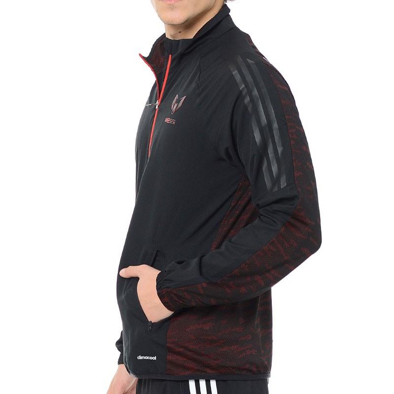 Veste Lionel Messi Football Noir Homme Adidas