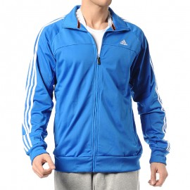Veste Entrainement Bleu Homme Adidas