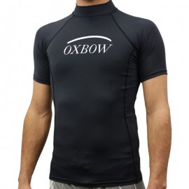 Lycra top Bright Noir Surf Homme Oxbow