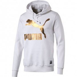 Sweat Archive Logo Blanc Homme Puma