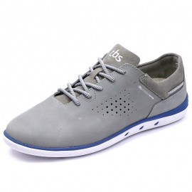 Chaussures MAHANI Cuir Gris Homme Tbs