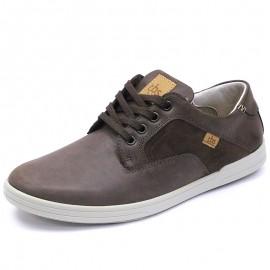 Chaussures Elance Cuir Marron Homme Tbs