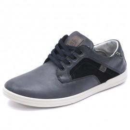 Chaussures Elance Cuir Noir Homme Tbs