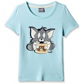 Tee-shirt Tom&Jerry Bleu Garçon/Fille Puma