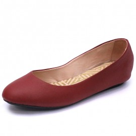 Chaussures Camille Rouge Femme Tbs