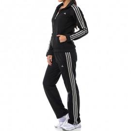 CLIMA KNIT SUIT BKS - Survêtement Entrainement Femme Adidas