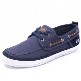Chaussures Marinas Cuir Marine Homme Tbs