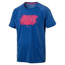 Tee shirt Running Bleu Homme Puma