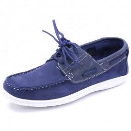 Chaussures Yolles Cuir Marine Homme Tbs