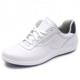 Chaussures de Marche Anyway Cuir Blanc Femme Tbs