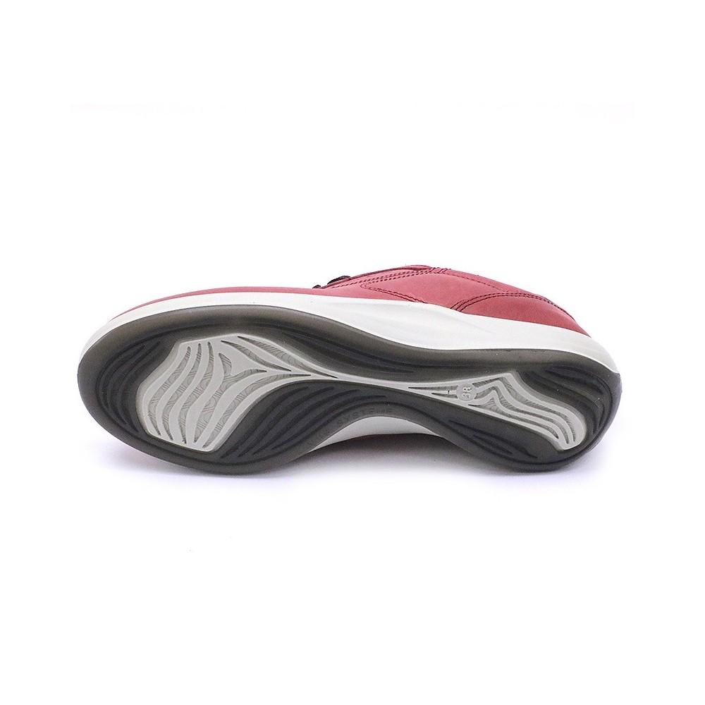 e89276c72cf975 Chaussures de Marche Anyway Cuir Rouge Femme Tbs Rouge | eBay