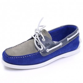 Chaussures PHENIS Cuir Bleu Homme Tbs