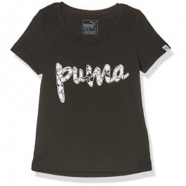 Tee shirt Style Noir Fille Puma