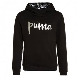 Sweat Style Noir Fille Puma