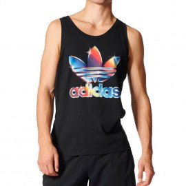 Débardeur Graphic Noir Homme Adidas