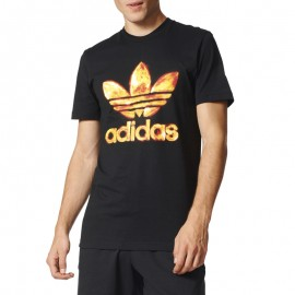 Tee-shirt Graphic Noir Homme Adidas