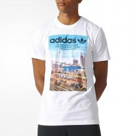 Tee-shirt Spree Vollgas Blanc Homme Adidas