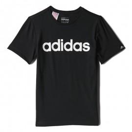 Tee Shirt Essential Noir Garçon Adidas