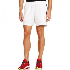 Short Entrainement Blanc Homme Adidas
