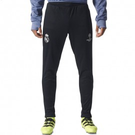 Pantalon Real Madrid Football Noir Homme Adidas