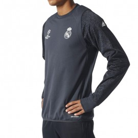 Sweat Real Madrid Uefa Football Gris Homme Adidas