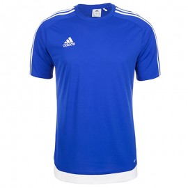 Tee-shirt Estro 15 Football Bleu Homme Adidas